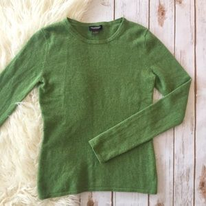 Philosophy light green 100% cashmere sweater